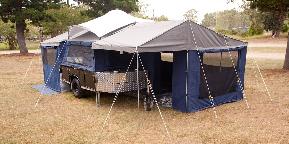 Camper Trailer Set Up