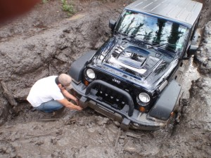 Jeep Bogged