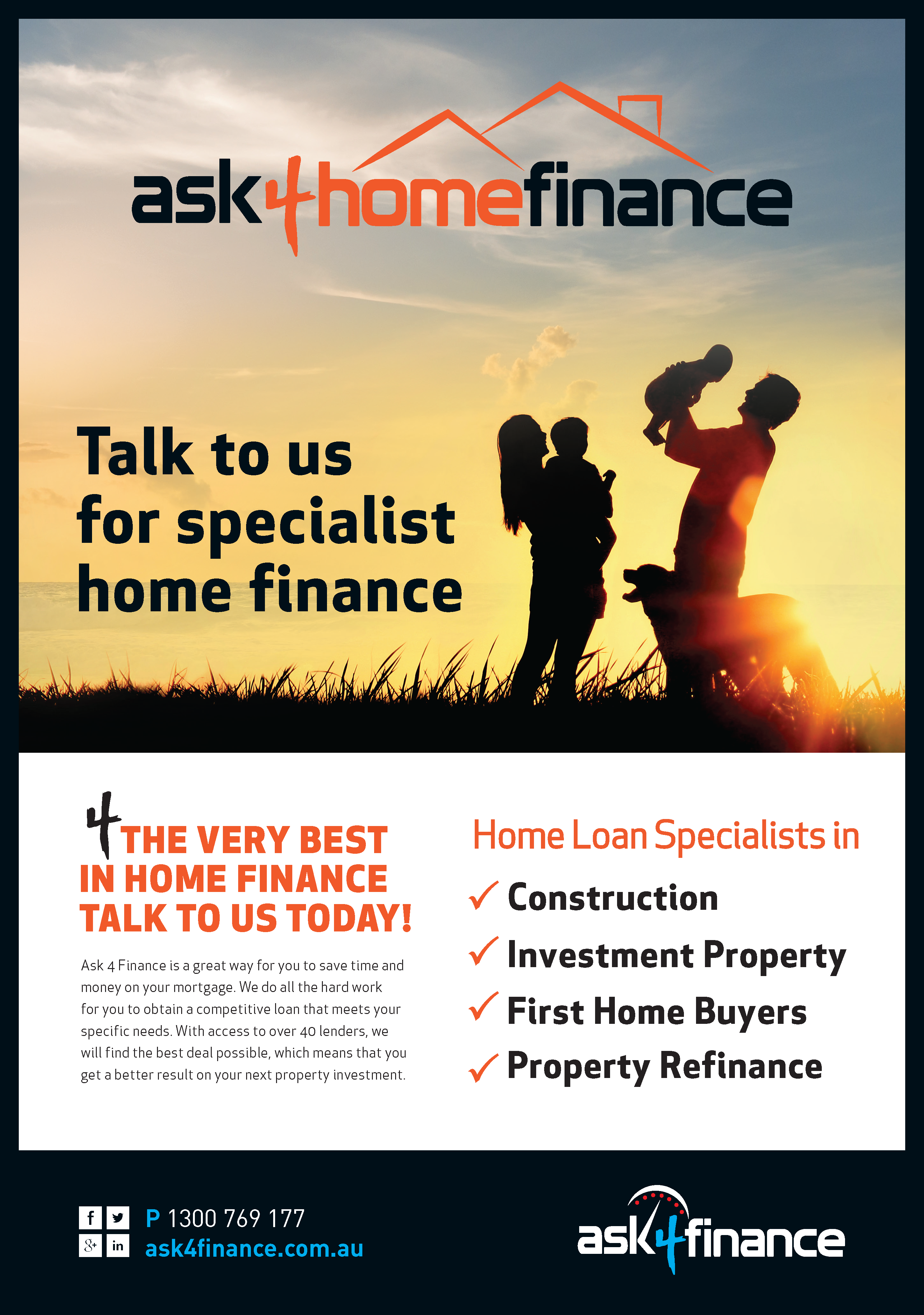 Switch home loans ask4finance for Two loans for one house